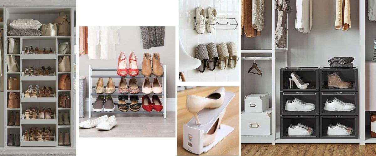 Organizador de zapatos para armario