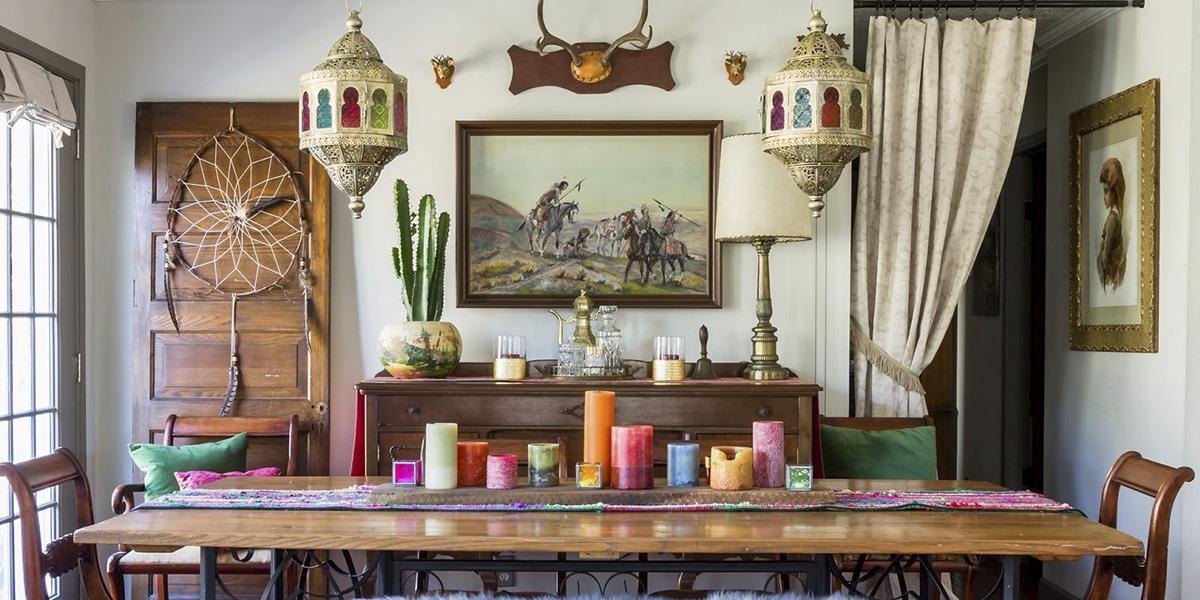 Lámparas de estilo marroquí