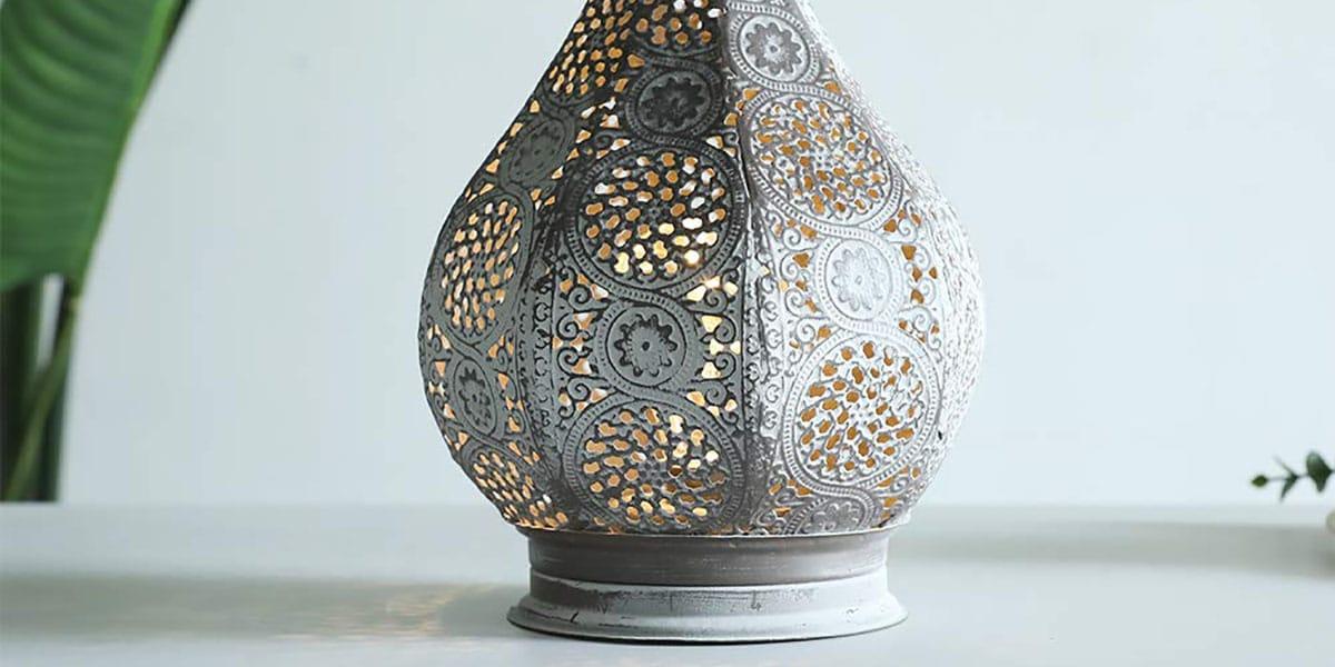 Lámpara de estilo árabe