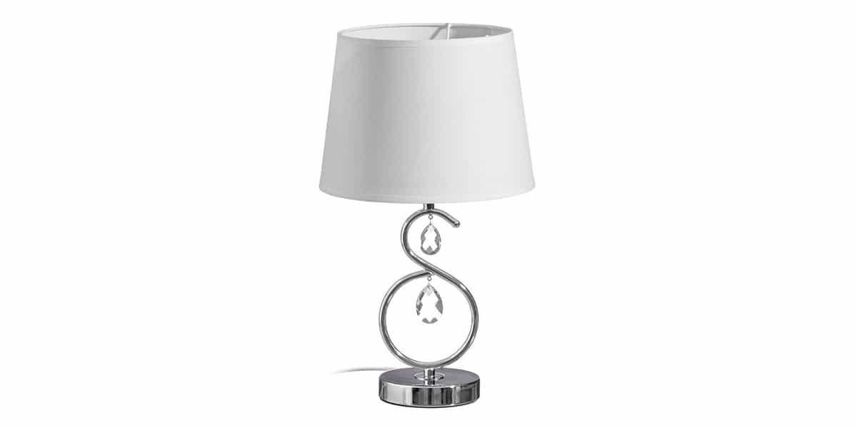 Lámpara de metal