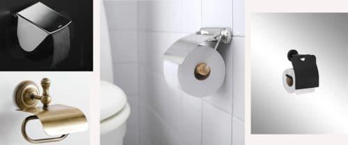 Diferentes tipos de portarrollos para el baño | Decoora