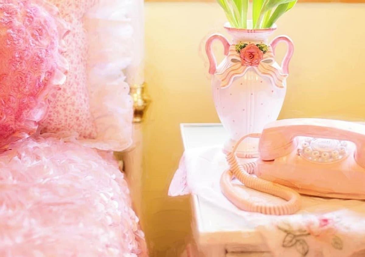 telefono decoracion romantica