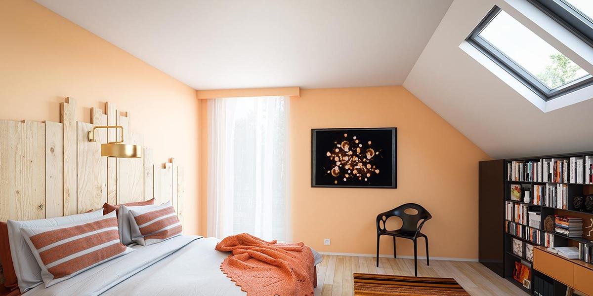 Colores anaranjados