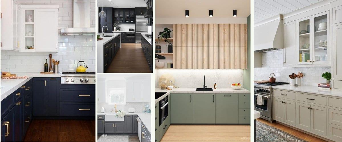 Pintar los muebles para renovar la cocina
