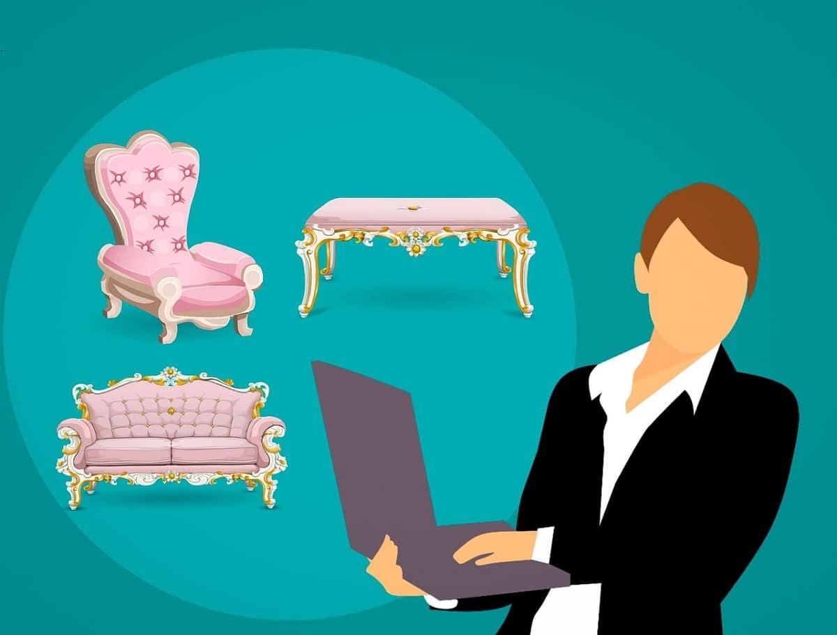 Comprar muebles con Paypal