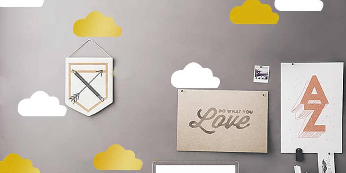 Stickers en las paredes