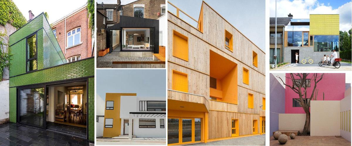 Color para destacar detalles arquitectónicos