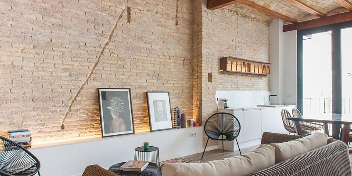 Revestir paredes con ladrillos