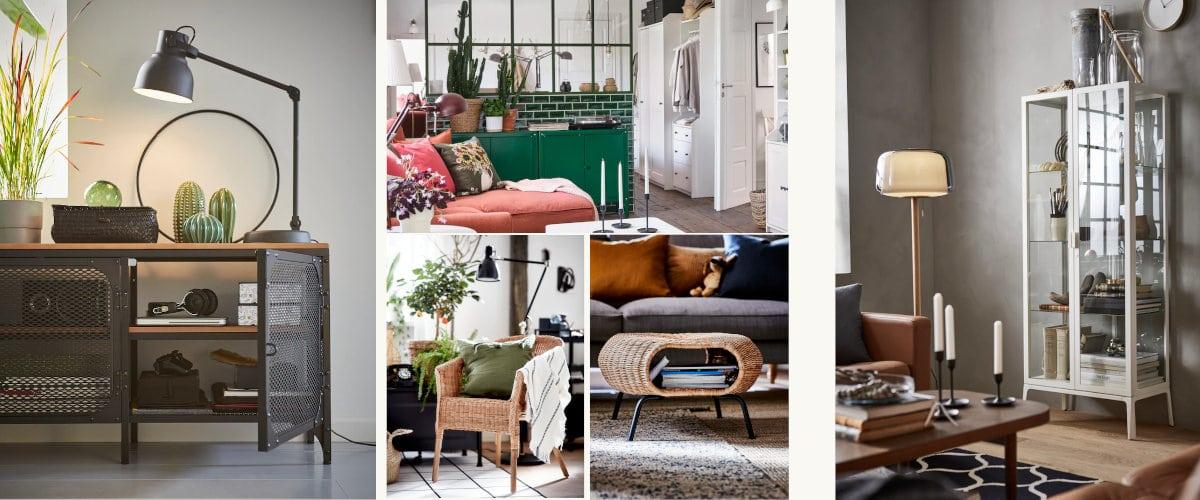 Muebles con personalidad de Ikea