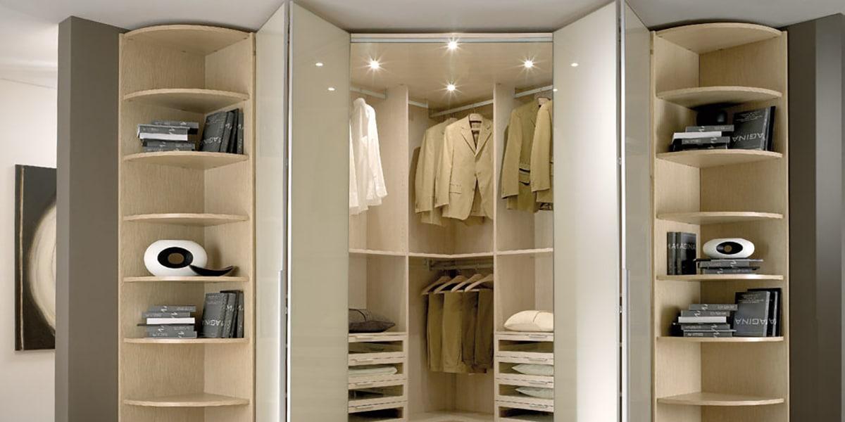 Puertas plegables para armarios