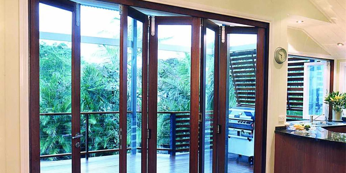 Puertas plegables para exterior
