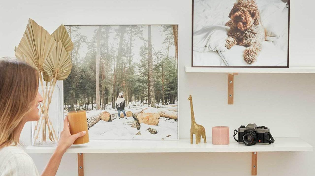 Cómo decorar tu casa con cuadros modernos personalizados
