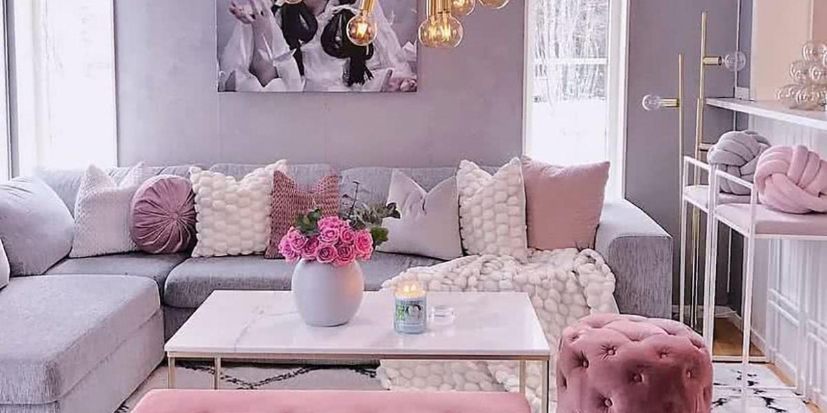 Lila y rosado