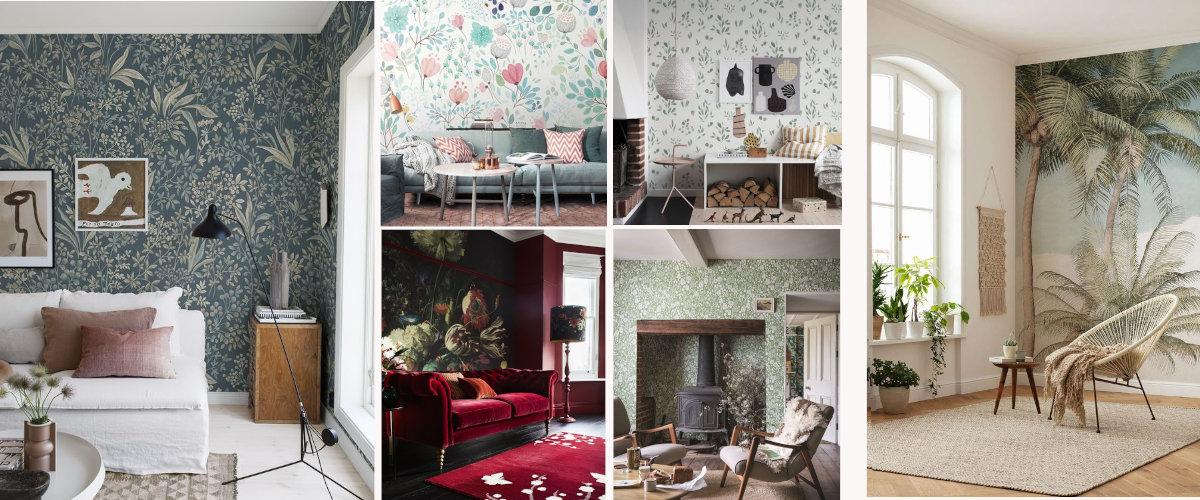 Motivos de flores para lograr un estilo vintage