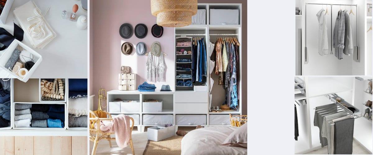 Accesorios para armarios empotrados
