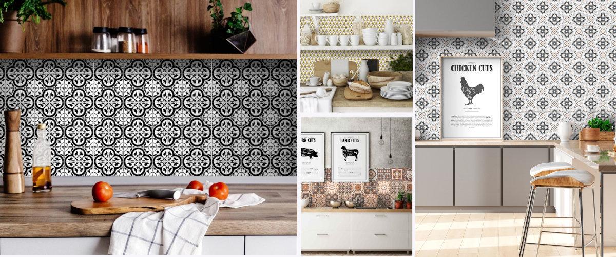 Vinilos decorativos de azulejo para la cocina