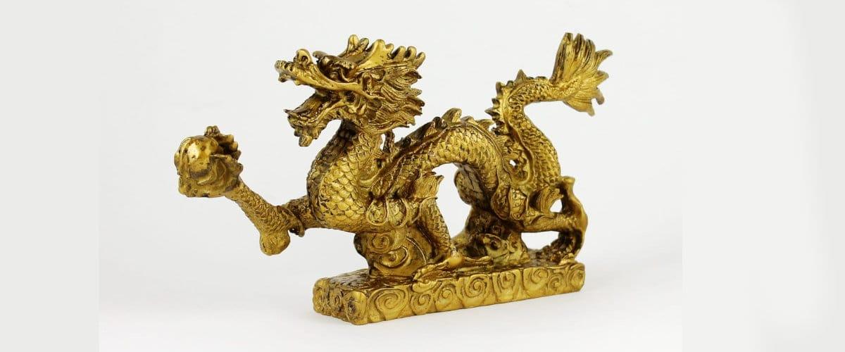 Dragón Feng Shui, una figura ideal para tu casa